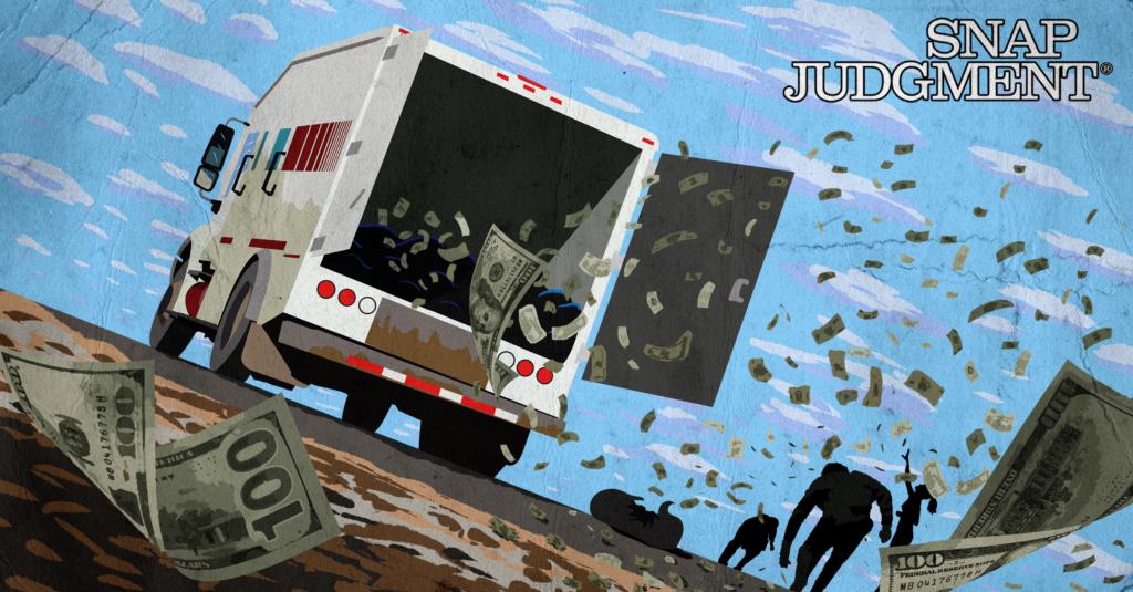 Money Truck: When $600K Spill Out of a Truck