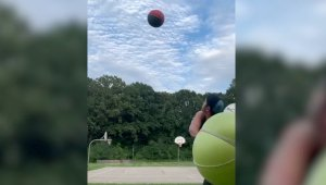 Must Watch! Man Performs Unbelievable Trickshots Perfect During the 2020 Lockdowns