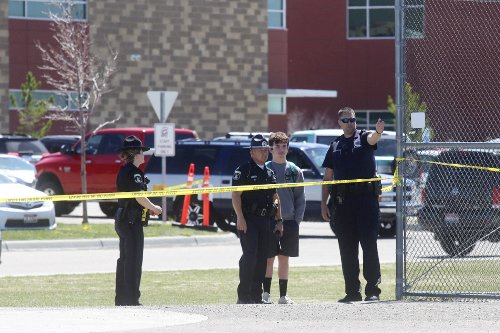Sheriff: Girl shoots 3 at Idaho school; teacher disarms her