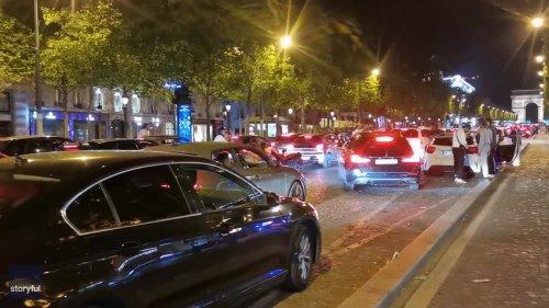 Crowds Defy Curfew in Paris for Second Night