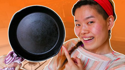 How To Clean Your Cast Iron Pan With June!