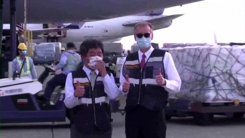 Taiwan welcomes US vaccine aid