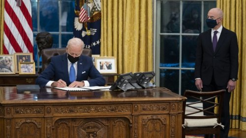 Biden Administration Grapples With Surge Of Migrant Children At Border