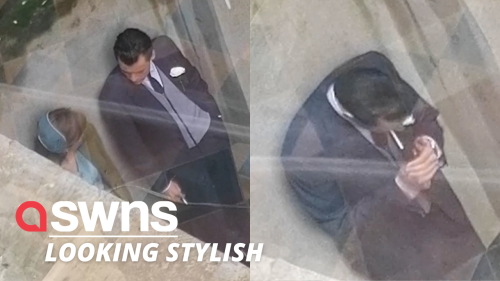 Harry Styles and Emma Corrin spotted filming new movie 'My Policeman'