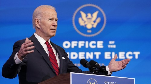 President-Elect Biden Lays Out COVID-19 Vaccine Plan