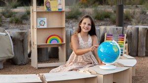 This Eight-Year-Old Wants 'To Change the World' with FlatPack Pop-up Classrooms