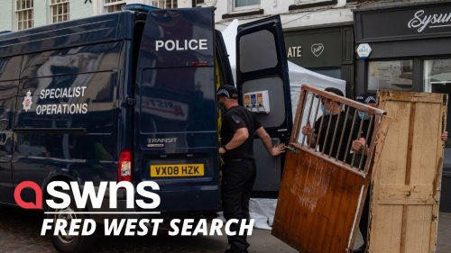 Police to dig at a café looking for the REMAINS of possible Fred West victim (RAW)