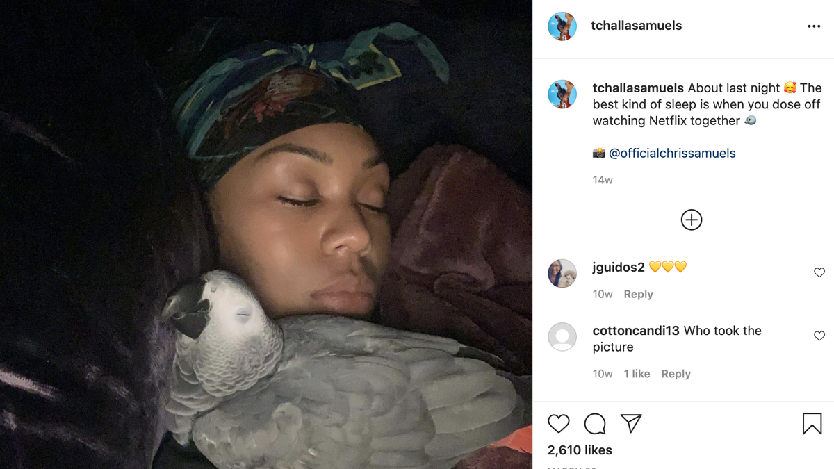 Real Housewives of Potomac Star Parrot T'Challa Dies