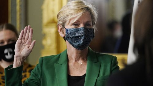 Senate Confirms Former Gov. Jennifer Granholm As Energy Secretary