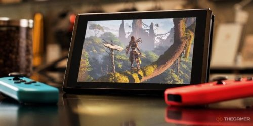 Someone Managed To Play Horizon Zero Dawn On A Nintendo Switch