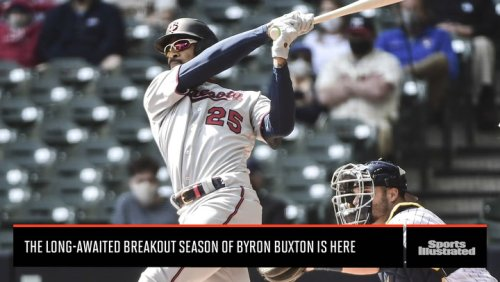 Verducci: The Long-Awaited Breakout Season for Byron Buxton of the Twins Is Finally Here