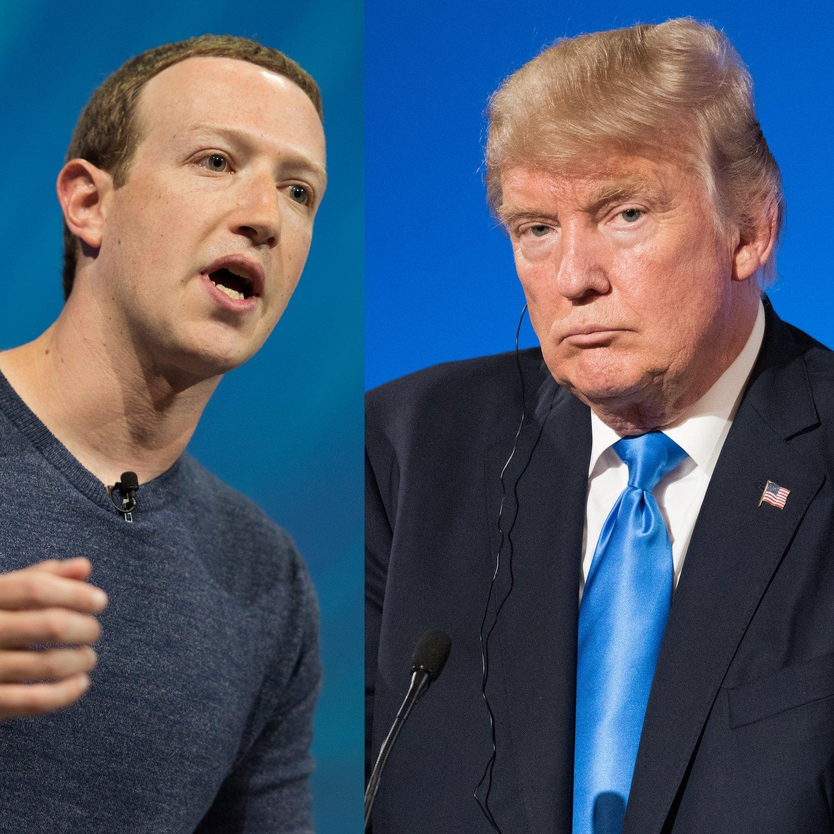 Listen: Trump Banned From Facebook Indefinitely