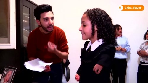 Egyptian new series starring cast with disabilities