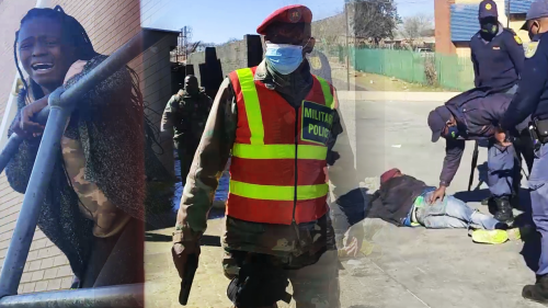 'South Africa Looting: Troublemakers Arrested, Scared Away & Punished by SANDF'
