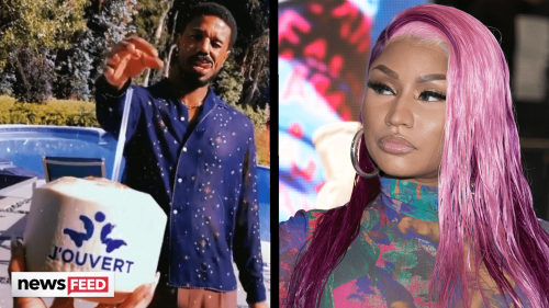 Nicki Minaj URGES Michael B. Jordan To Rename Rum Brand After Backlash & He Responds!