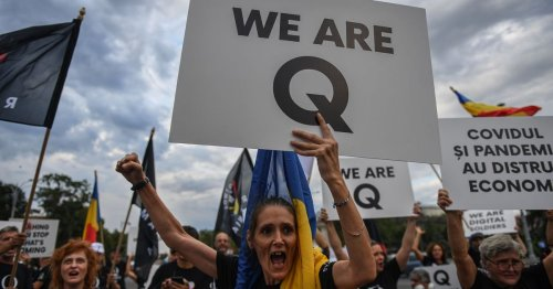 How QAnon Believers Keep Evading Online Bans