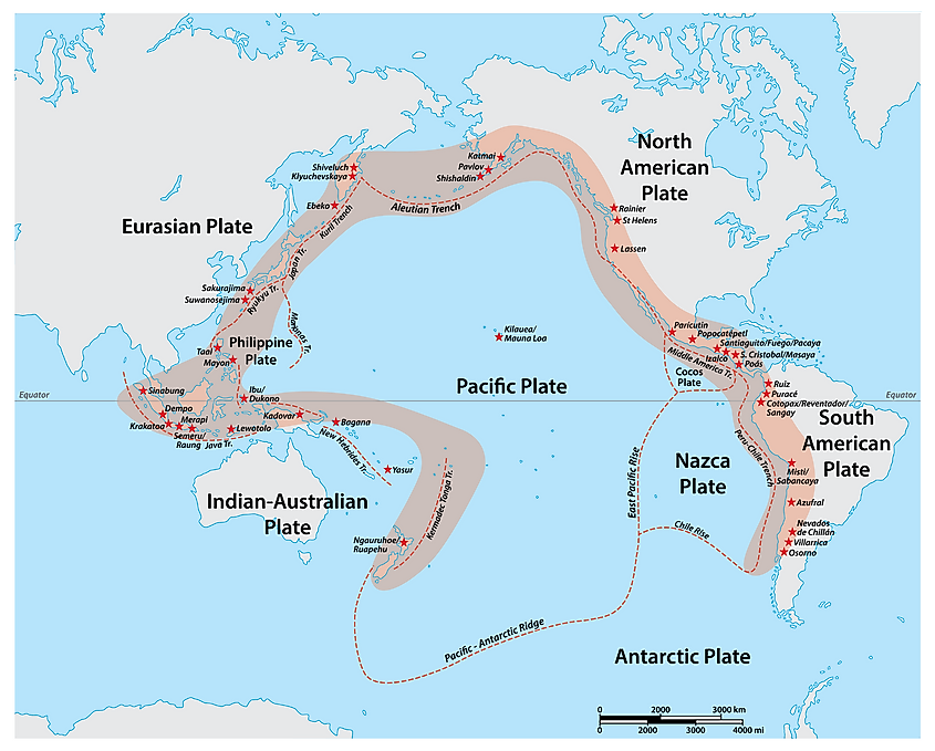 Hot Facts About the Pacific Ring of Fire
