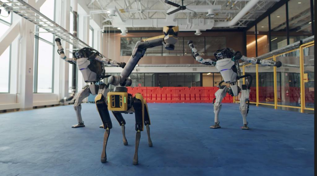The Boston Dynamics robots are surprisingly good dancers