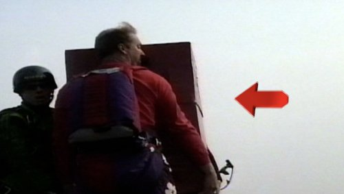 Ever Seen a Base Jumper in a Box?