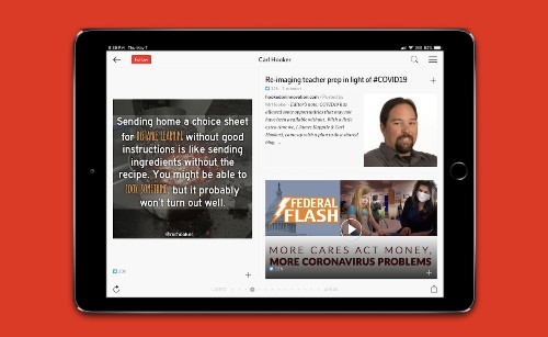 Professional Development and Flipboard Fridays on Flipboard EDU Podcast Episode 3