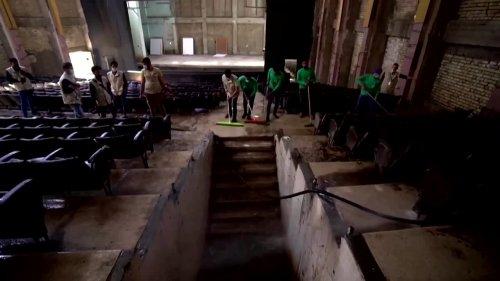 Music fills Iraq's Al-Rabea Theater again