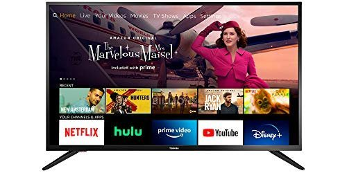 $100 discount on a Toshiba 43-inch smart HD 1080p Fire TV
