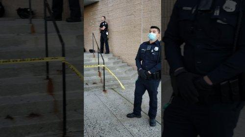Black woman confronts cops on racism