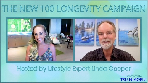 "EP2 Host Linda Cooper Interviews Telomere Guru; Dr Bill Andrews on how he will ""Cure Aging or Die Trying"""