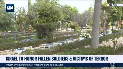 Israel to Honor Fallen Soldiers & Victims of Terror