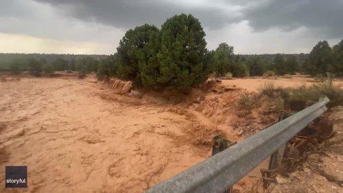 Intense Thunderstorms Bring Flash Floods to Southern Utah