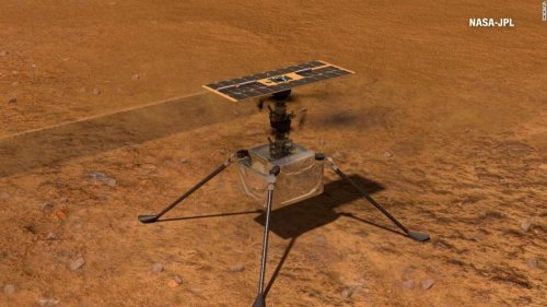 NASA's Ingenuity Helicopter Takes Historic Flight on Mars