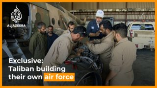 Exclusive: Taliban refurbishing equipment to build their own air force