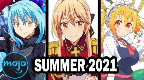 Top 10 Anticipated Anime Summer 2021