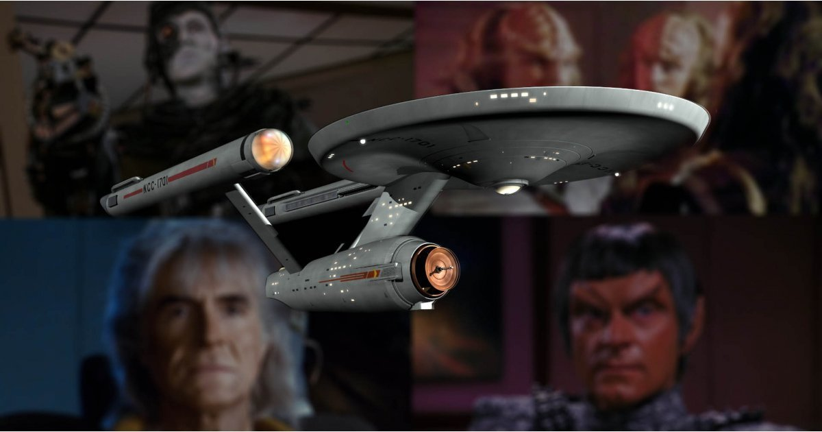 10 best Star Trek villains of all time: from the Borg to the Klingons
