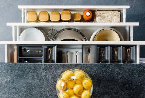 Genius Ways To Organize Your Kitchen Drawers — Plus More Kitchen Organization Ti