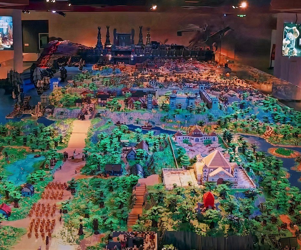These massive Lego creations will completely  blow your mind