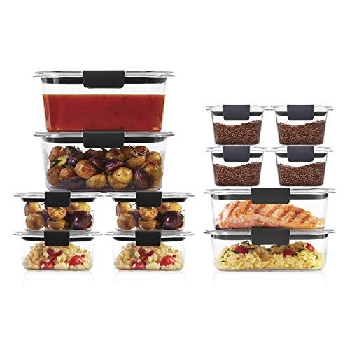 Rubbermaid leak-proof food containers