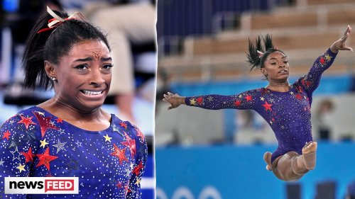 Simone Biles Details PRESSURE To Perform - Watch Her Olympics Start!