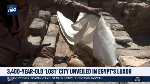 3,400-Year-Old 'Lost City Unveiled in Egypt's Luxor
