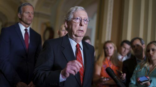 McConnell: No GOP Support For Voting Rights Bill