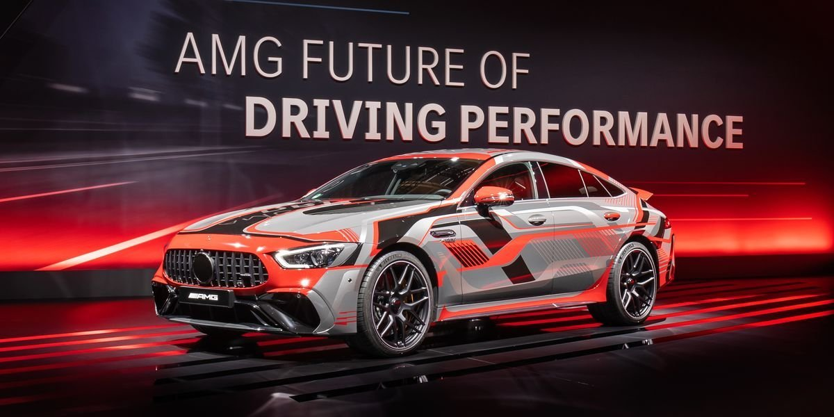Mercedes-AMG Plug-In Hybrids Will Have 800+ Horsepower