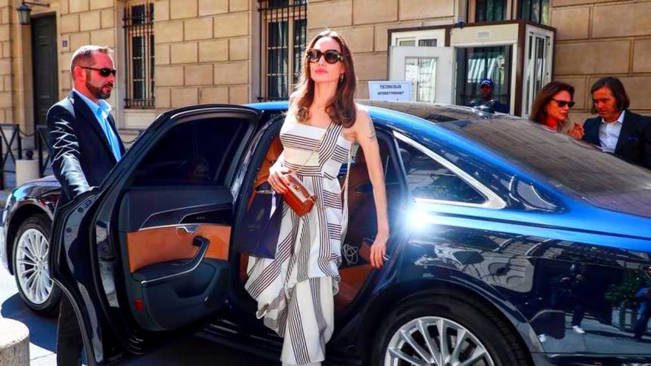 Here's What Angelina Jolie Drives
