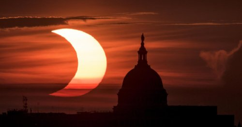 """Rare """"ring of fire"""" solar eclipse: See the spectacular images"""