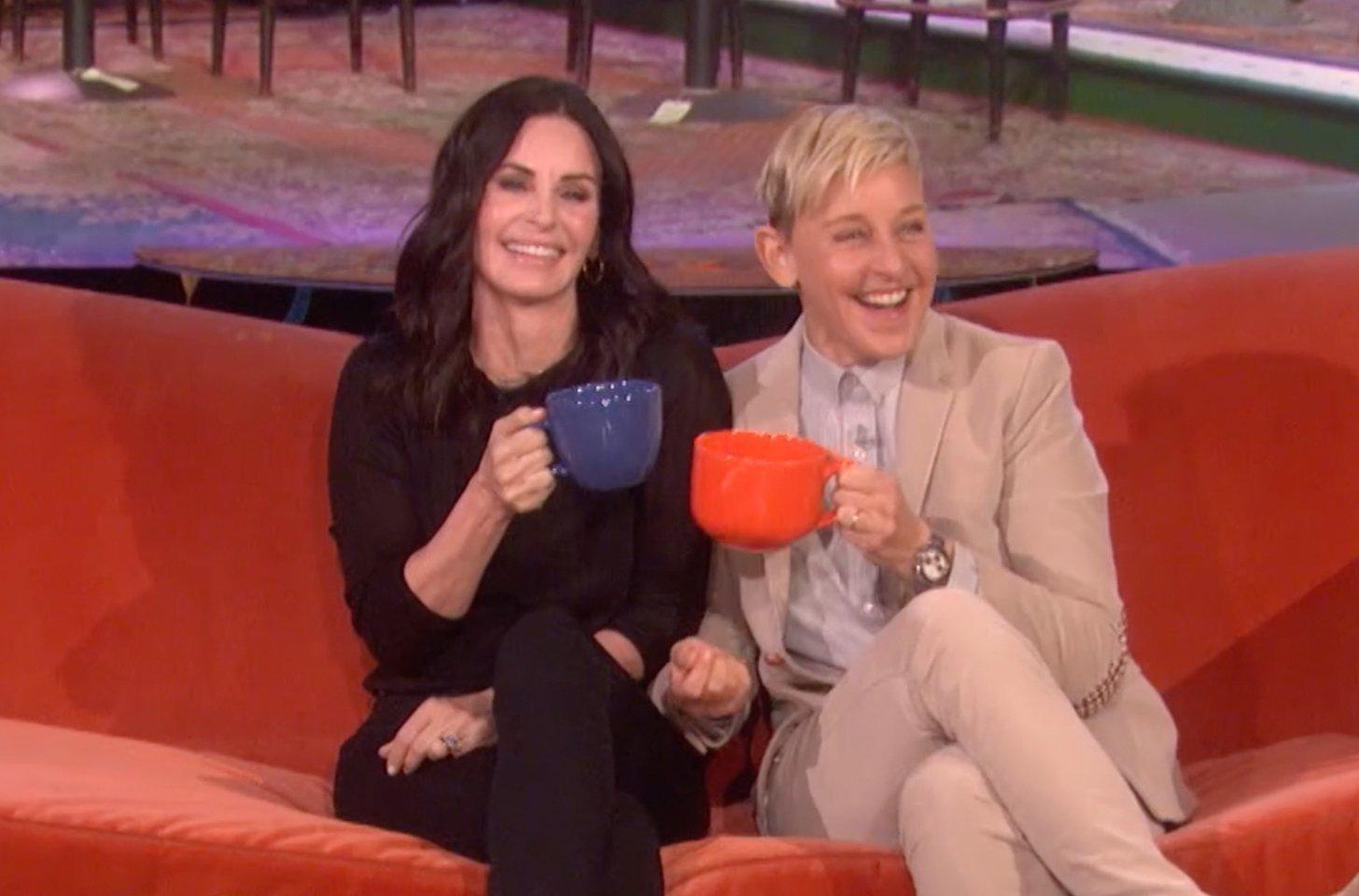Ellen DeGeneres 'Shacking Up' With Courteney Cox Amid Relationship Problems?