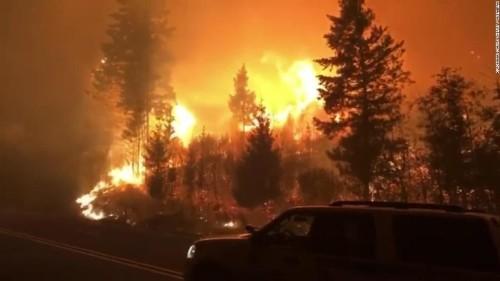 Wildfires misinformation