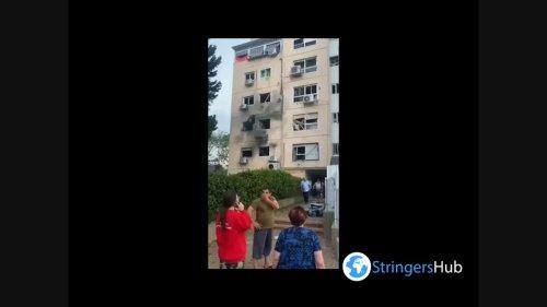 Israel: 26 injured as rockets strike residential buildings in Ashkelon