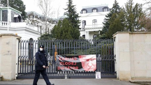 Czech Republic expels 18 Russian embassy staff for 'spying' in 2014 explosion case