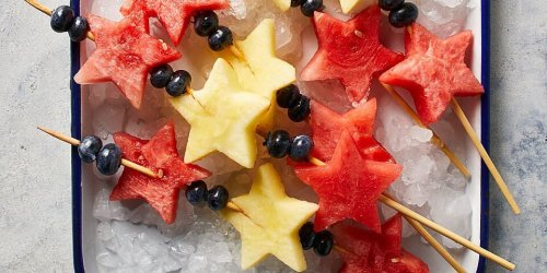 Star-Spangled Fruit Kebabs & More Olympics Snacks That'll Win You the Gold