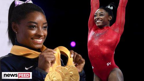 Simone Biles MAKES HISTORY Ahead Of The 2021 Olympics!
