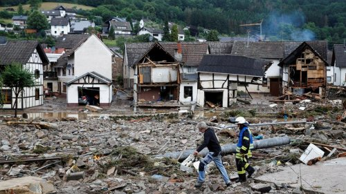 Unwetter-Katastrophe in Deutschland